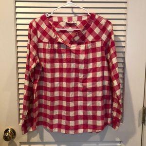 Vineyard Vines- Pink Flannel Shirt- Size XL (16)